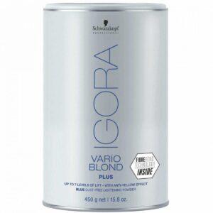 Schwarzkopf Igora Vario Blond Plus Pó Descolorante Lata – 450gr