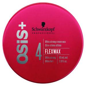 Schwarzkopf Osis + Flexwax Ultra Strong Cream Wax- Cera 85 ml