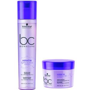 Schwarzkopf BC Smooth Perfect – Kit Shampoo e máscara