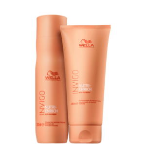 Kit Wella Invigo Nutri -Enrich Shampoo 250ml + Condicionador 200ml