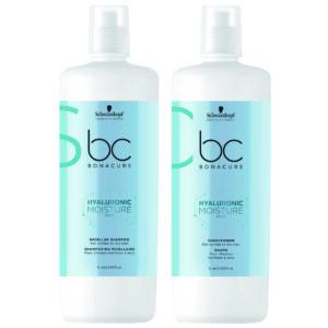 Schwarzkopf BC Moisture Kick Kit Shampoo 1000ml + Condicionador 1000ml