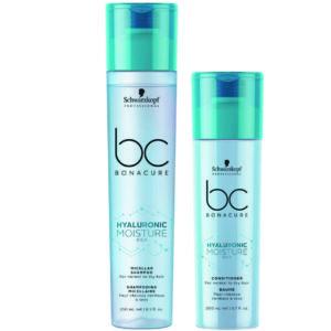 Schwarzkopf BC Moisture Kick Kit shampoo 250ml + condicionador 200ml