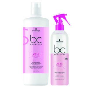 Schwarzkopf BC Color Freeze Kit shampoo 1000ml + condicionador spay 400ml