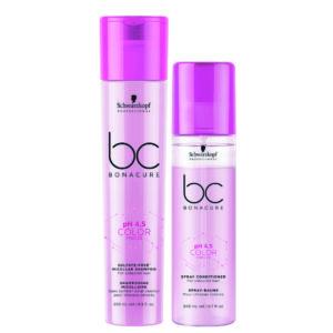 Schwarzkopf BC Color Freeze Kit shampoo 250ml + condicionador spay 200ml