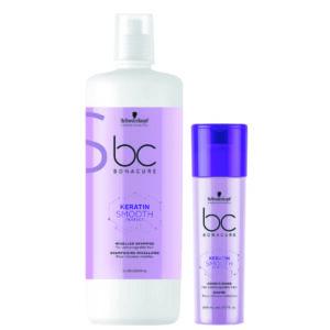 Schwarzkopf BC Smooth Perfect Kit shampoo 1000ml + condicionador 200ml