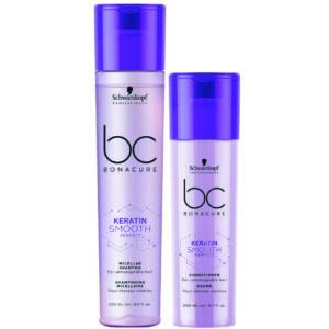 Schwarzkopf BC Smooth Perfect Kit shampoo 250ml + condicionador 200ml